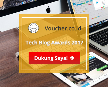 Banners for Tech Blog Awards 2017