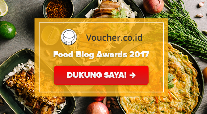Banners for Food Blog Award 2017