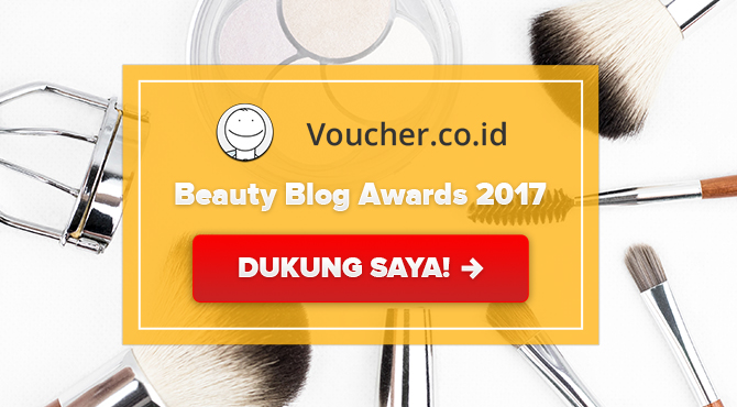 Banners for Beauty Blog Award 2017