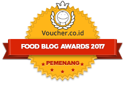 Banners for Food Blog Awards 2017 – winner