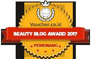 Banners for Beauty Blog Awards 2017 – Winner