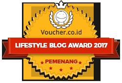 Banners for Lifestyle Blog Award 2017 – Winner