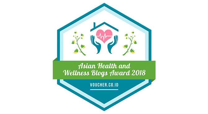 Banners for Asian Health and Wellness Blogs Award 2018