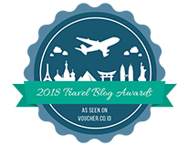 Banners for Travel Blogs Award 2018