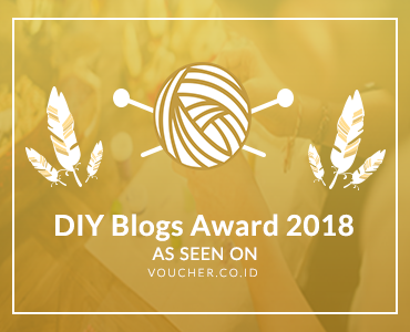 Banners for DIY Blogs Award 2018