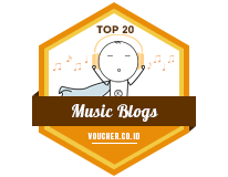 Banners for Top 20 Music Blogs 2018