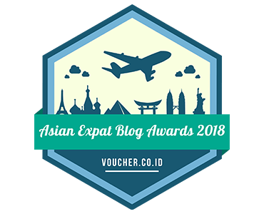 Banners for Asian Expat Blogs Award 2018