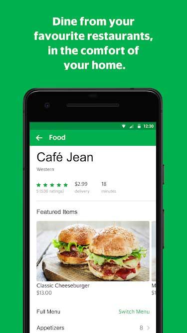 GrabFood App 3