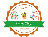 Banners for Top 15 Pottery Blogs