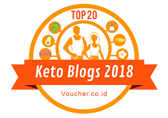 Banners for Top 20 Keto Blogs 2018