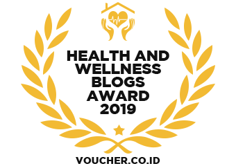 Banners for Health and Wellness Blogs Award 2019