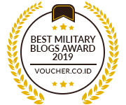 Banners for Best Military Blogs Award 2019